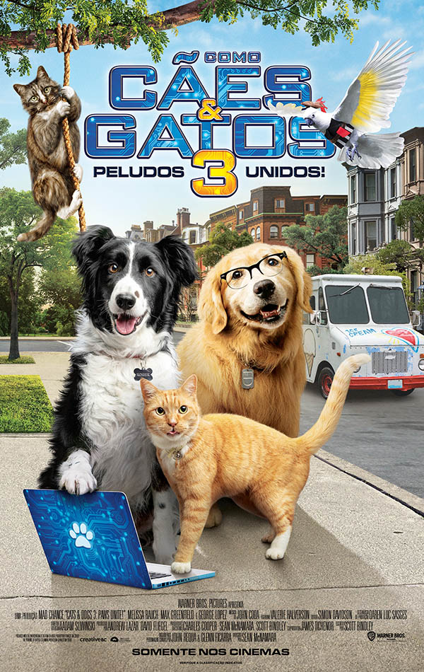 Como Cães e Gato 3: Peludos Unidos